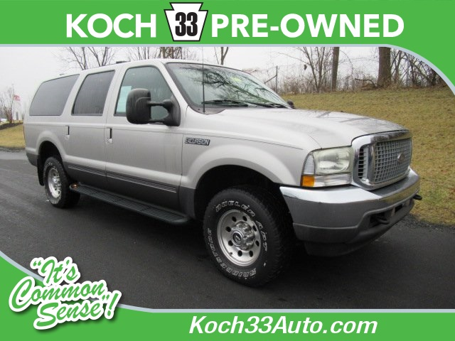 PreOwned Ford Excursion XLT D Sport Utility In Easton - 2002 excursion