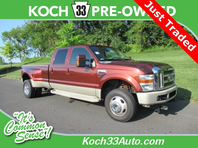 Pre-Owned 2008 Ford F-350SD King Ranch
