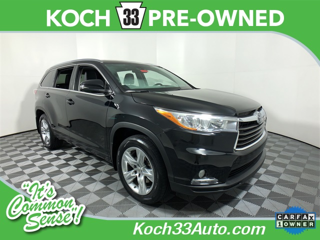 Certified Pre-Owned 2015 Toyota Highlander Limited Platinum V6