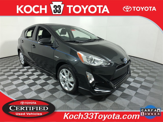 Certified Pre-Owned 2017 Toyota Prius c Four