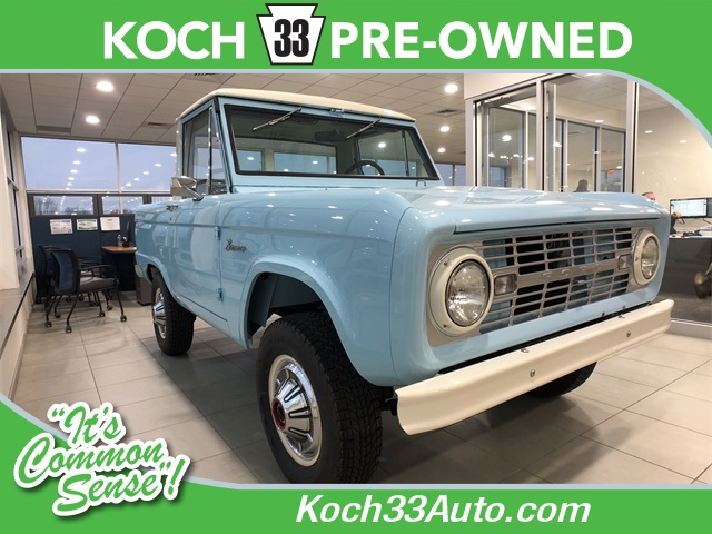 Pre-Owned 1966 Ford Bronco