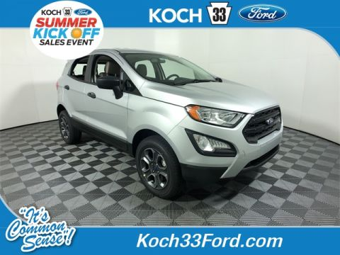 New 2019 Ford EcoSport S