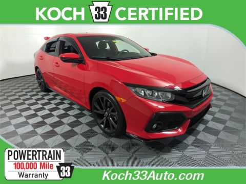 Pre-Owned 2017 Honda Civic Sport
